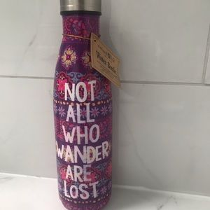 Natural Life Water Bottle -NEW- Stainless steal